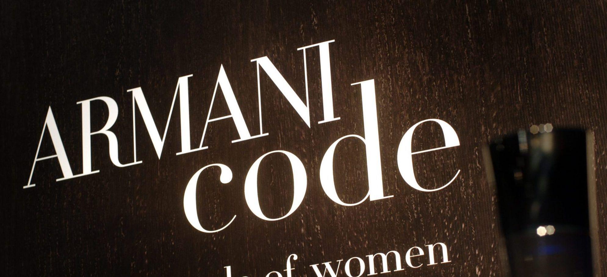 Case Study: Armani Code